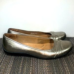 Life Stride 'Diva' Leather Flats 8.5